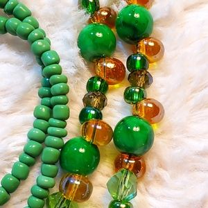 St. Patrick's Day Custom Handmade Beaded Lan…